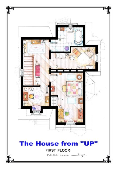 up house floor plan the house from up first floor floorplan by nikneuk