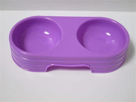 water dish 8 rabbit guinea pig ferret plastic diner food water bowl dish dhy017 ebay