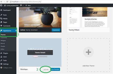 membuat theme wordpress dengan framework belajar membuat toko online dengan woocommerce koding