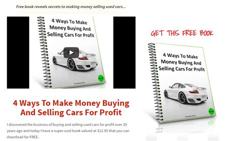 how to sell your for profit you don t need a record company to succeed in selling books the lazy way to buy and sell cars for profit review is