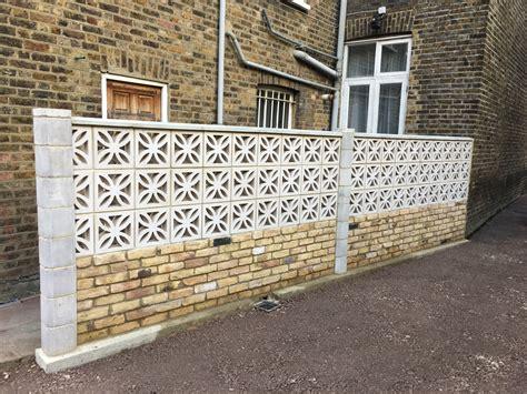 decorative blocks for garden walls decorative concrete blocks for garden walls uk