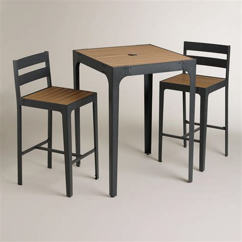 world market outdoor table san clemente outdoor pub collection world market