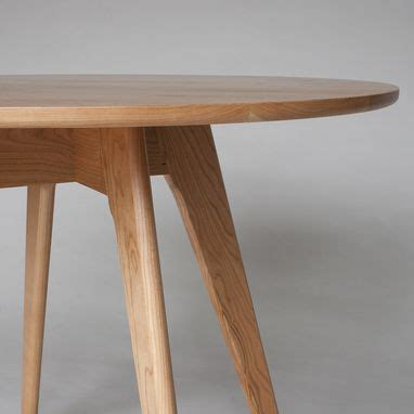 custom  mid century modern  dining table bistro