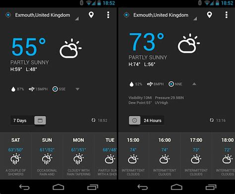 weather apps for android 9 finest weather widget apps for your android devices techno faq