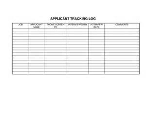 application tracking template best photos of candidate template
