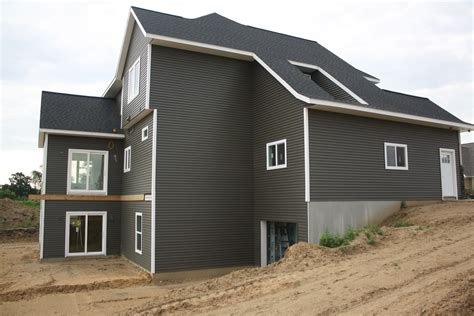 dark grey siding houses exterior house siding home decorators collection