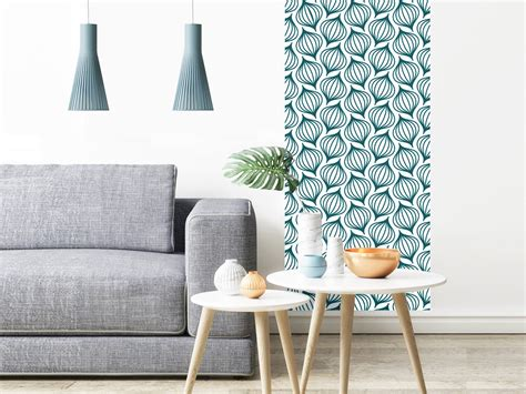Tapisserie Bleu by Papier Peint Adh 233 Sif Scandinave Mod 232 Le Lanternes Bleu Canard