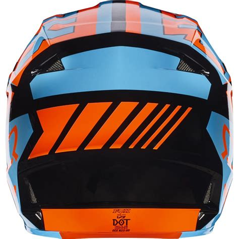 fox v1 motocross 2017 fox mx youth v1 helmet falcon black orange