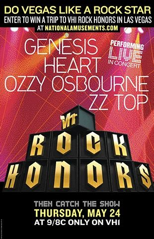 Rock On With The Vh1 Rock Honors Gift Bag by Willems