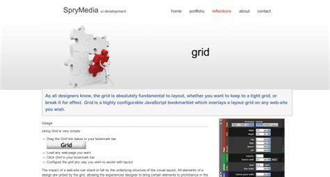 layout grid bookmarklet useful tools resources for better a vertical rhythm