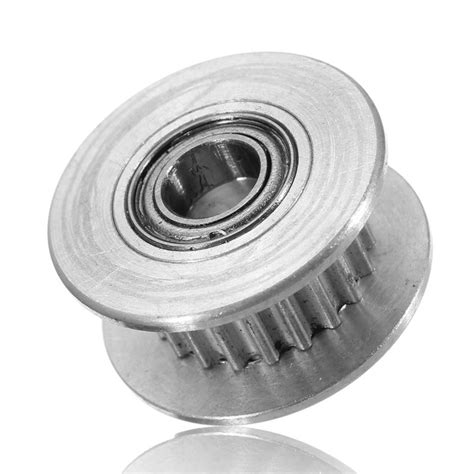 Idle Pulley Gt2 Without Teeth 5mm 3d printer accessories with 20 teeth timing gear pulley without tooth idle pulley synchronous