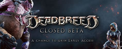 Mmobomb Giveaway - deadbreed closed beta pack giveaway additional keys mmobomb com