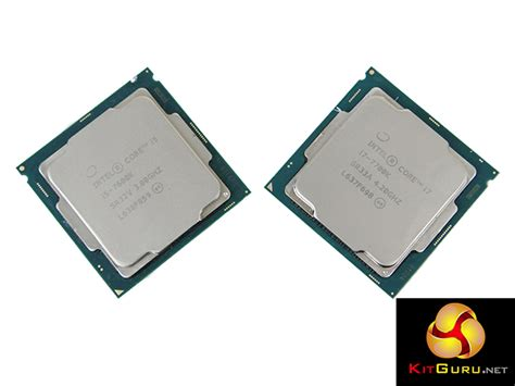 Intel I7 7700k Box 4 2ghz Kabylake intel i7 7700k i5 7600k kaby lake cpu review kitguru