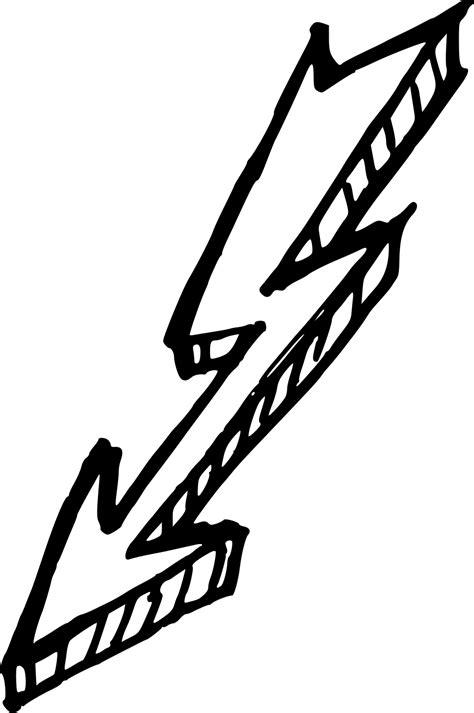 6 Lightning Bolt Drawing (PNG Transparent) | OnlyGFX.com