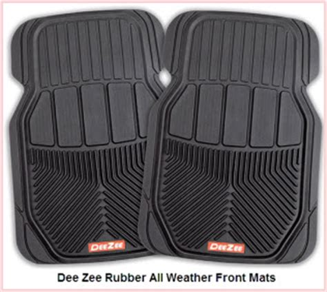 deezee car mats manufactures all weather rubber car mats