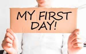 get ready for first day in a new job personal branding
