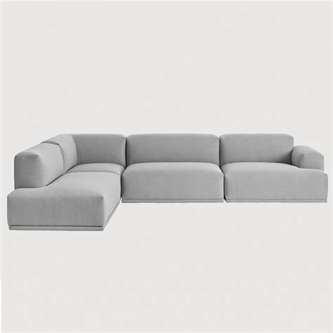 how to connect a sectional couch muuto connect sofa