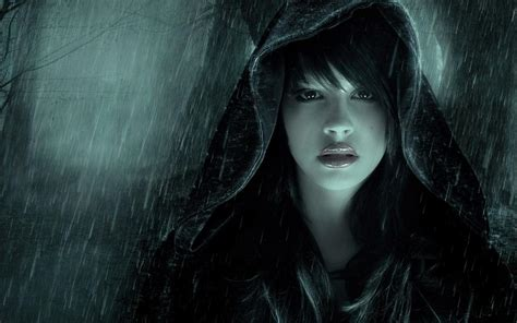 wallpaper girl in rain girl in rain photo wallpaper high definition high