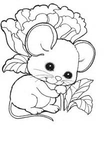 coloring mouse animal coloring pages 4