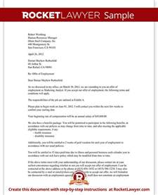 Offer Letter Usa Offer Letter Employment Offer Letter Template With Sle