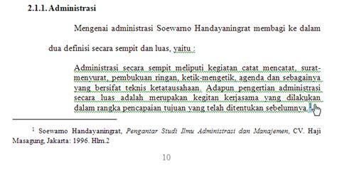 cara membuat footnote dari jurnal online contoh cara penulisan footnote yang benar contoh u