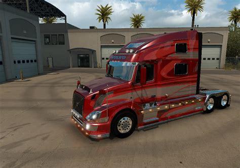 red volvo truck volvo vnl 780 red fantasy 2 0 for volvo vnl truck shop by