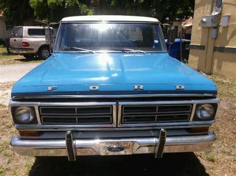 1972 ford custom truck 1972 ford f250 sport custom up truck