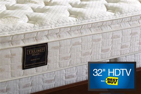 serta trump home collection mattress reviews viewpoints com trump home 174 bryant park with 32 quot tv or kindle fire