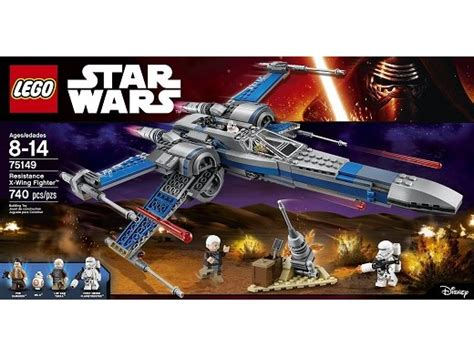 Lego Wars 75149 Resistance X Wing Fighter No Minifigures Box lego wars 75149 resistance x wing fighter zmart cl