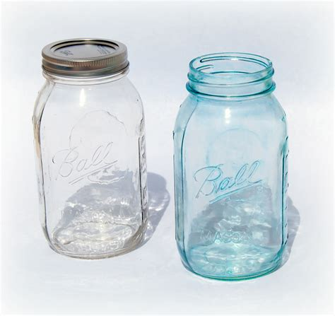 %name Colored Mason Jars   DIY ?Vintage? Blue Mason Jars   The Little GSP