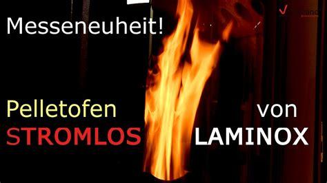 stromloser pelletofen stromloser pelletofen laminox messeneuheiten 2