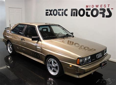 Audi Quattro Coupe For Sale by 1983 Audi Coupe Quattro German Cars For Sale
