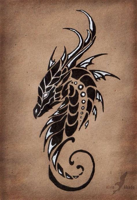 awesome dragon tattoos best 25 drawings ideas on