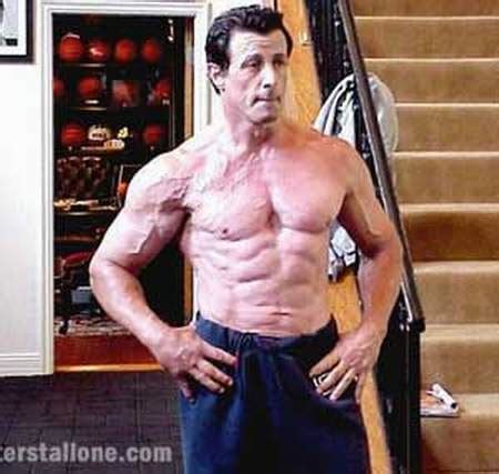 stallone tattoos sylvester stallone muscles tattoos