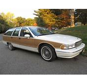 1994 Chevrolet Caprice Classic Wagon White With Wood Grain