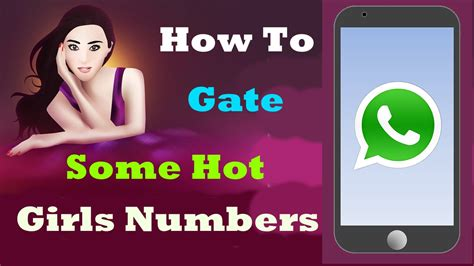 how to get a mobile number how to get some whatsapp phone numbers using