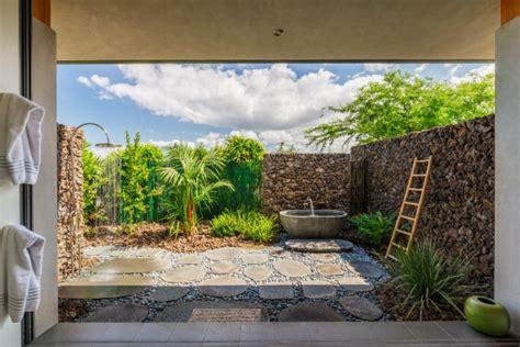 hawaii outdoor shower outdoor shower gardens in hawaii hawaii