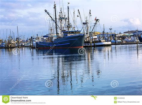 fishing boat dealers washington state large boat moored in the harbor stock image