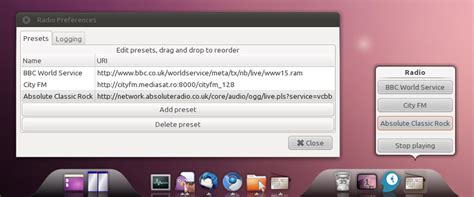 Awn Radio by Awn Radio Applet Is Available In The Webupd8 Ppa Web Upd8 Ubuntu Linux