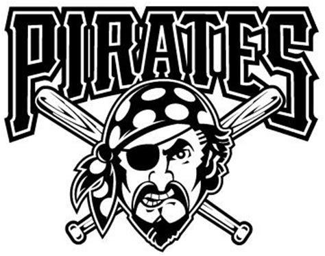 Pittsburgh Pirates Logo Black And White