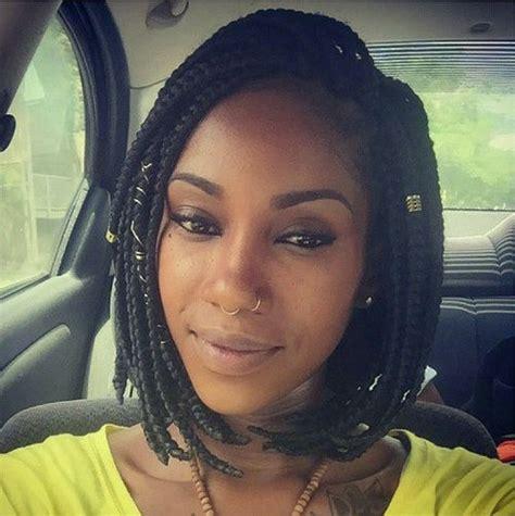 neck length box braids 40 goddess braids hairstyles you must try