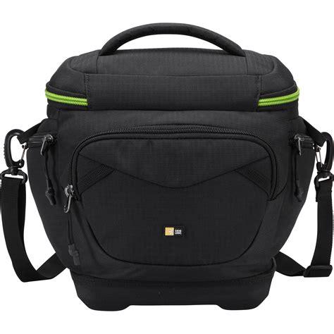 logic dslr bag logic kontrast dslr shoulder bag black kdm102 black b h
