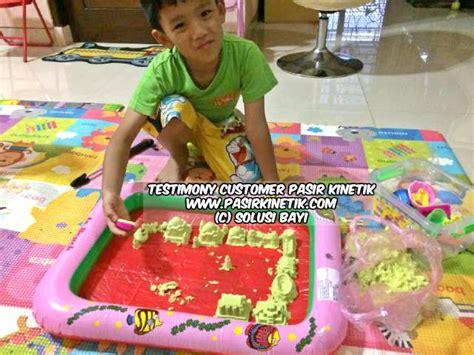 Mainan Edukasi Anak Pasir Kinetik Moving Sand Jumbo Testimony Customer Pasir Kinetik Kinetic Sand