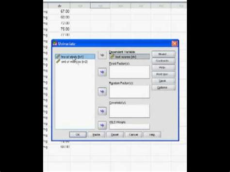 tutorial spss 19 youtube spss tutorial interaction youtube