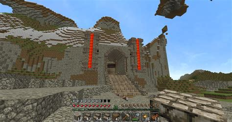 Castle Floor Plans Minecraft i feel like my quot grand entrance quot to our smp mountain base