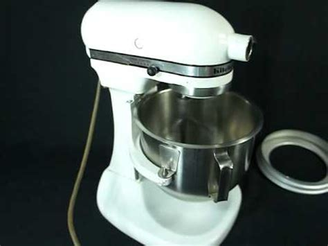 Vintage Kitchen Aid Hobart K5 A 5 quart mixer   YouTube
