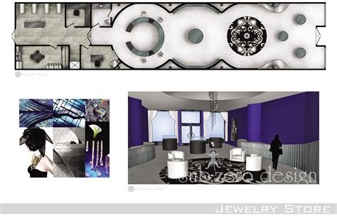 jewelry shop floor plan sub zero animation vfx commercial interior floor plan