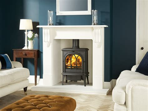 Fireplace Surrounds For Wood Burners by Stovax Huntingdon 35 Traditional Multi Fuel Wood Burning