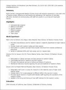 Early Years Practitioner Cover Letter by Professional Newborn Nursery Templates To Showcase Your Talent Myperfectresume