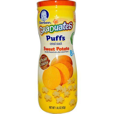 Gerber Graduates Puff By Susupedia gerber graduates puffs cereal snack sweet potato